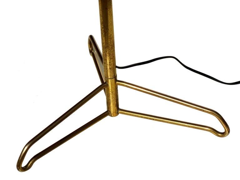 Mid-Century Modern 1950s by Stilnovo Italian Midcentury Design Floor Lamp For Sale