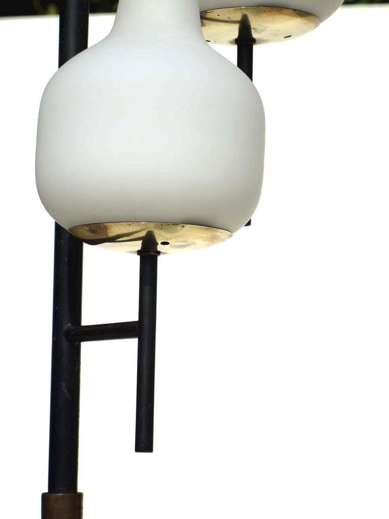1950s by Stilnovo Italian Midcentury Design Floor Lamp In Excellent Condition For Sale In Brescia, IT