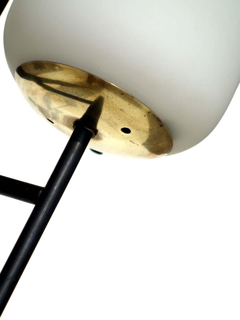 Mid-20th Century 1950s by Stilnovo Italian Midcentury Design Floor Lamp For Sale