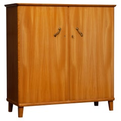 1950s, Cabinet in Elm Made in Tibro, Sweden
