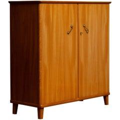 1950s, Cabinet in Elm Made in Tibro, Sweden