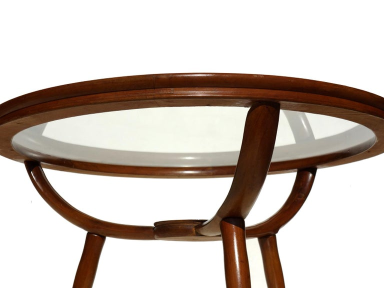 Wood table with glass top Excellent condition.