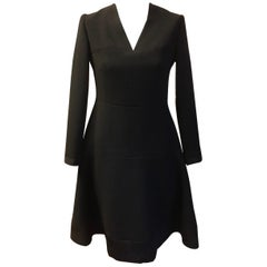 1950s Carosa Roma Stunning Black Dress
