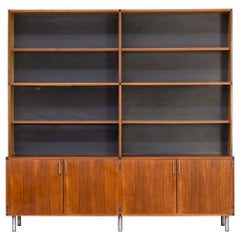 1950s Cees Braakman 'Made to Measure' Wall Unit Cabinet for Pastoe