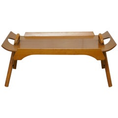 1950s Centurion Teak Breakfast Bed Tray Table by Paragon