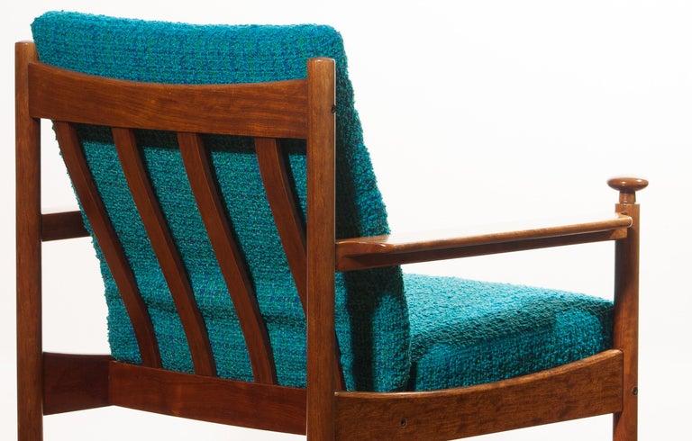 Fabric 1950s Chair by Torbjørn Afdal for Sandvik & Co. Mobler