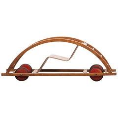 """1950er Jahre, Kinderwagen mit Schaukel von Hans Brockhage """"b"""""""