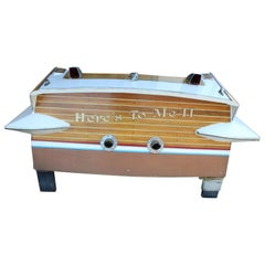 1950s Chris Craft Cavalier Cut Stern Rear Boat