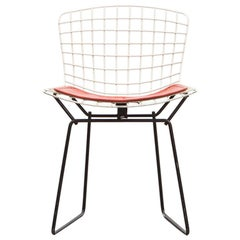 1950s Chrome-Plated Steel Wire Kids Side Chair by Harry Bertoia 'c'