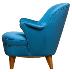 1950s Club / Lounge / Easy Chair in the Style of Otto Schulz Boet Sweden