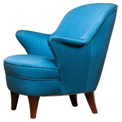 1950's Club / Lounge / Easy Chair in the Style of Otto Schulz for Boet Sweden