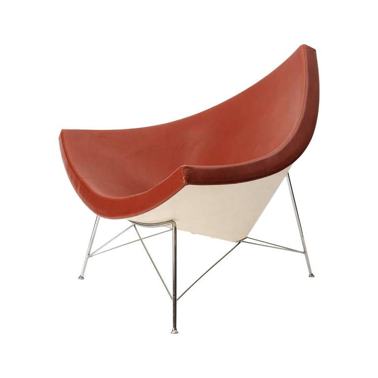 1950s Coconut Lounge Chair by George Nelson for Herman Miller For Sale