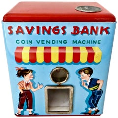 1950's Coin Vending Toy Mechanical Bank