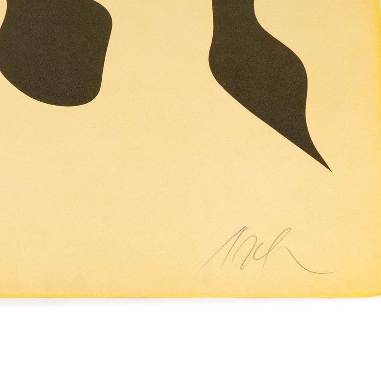 European 1950s Color Lithograph by Jean 'Hans' Arp For Sale
