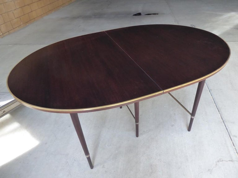 1950s Connoisseur Collection Mahogany Dining Table by Paul McCobb For Sale 7