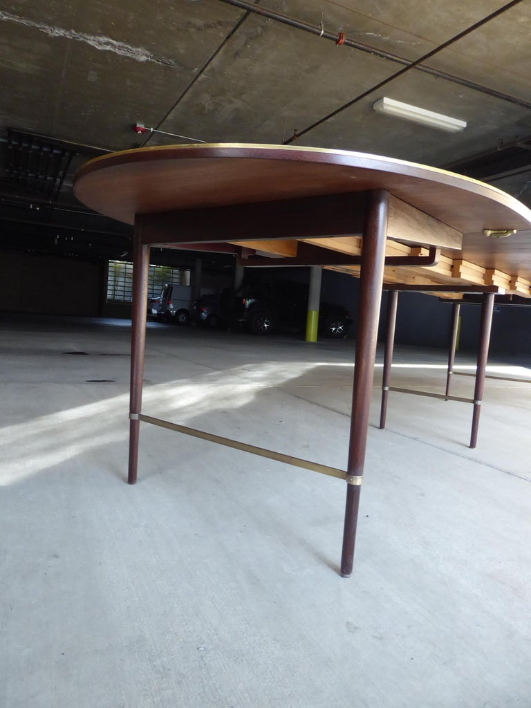Mid-20th Century 1950s Connoisseur Collection Mahogany Dining Table by Paul McCobb For Sale