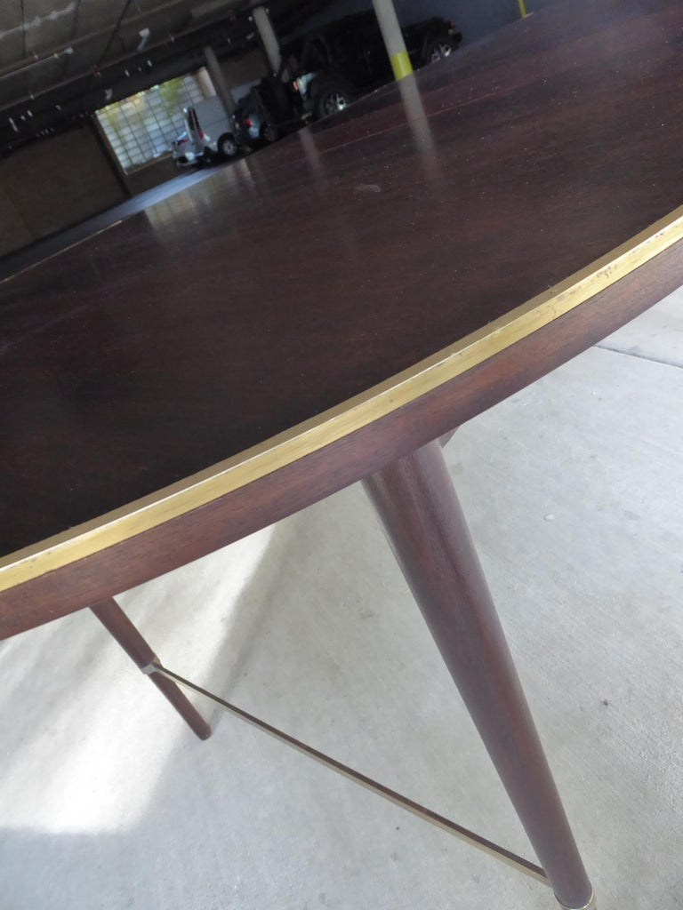 1950s Connoisseur Collection Mahogany Dining Table by Paul McCobb For Sale 1