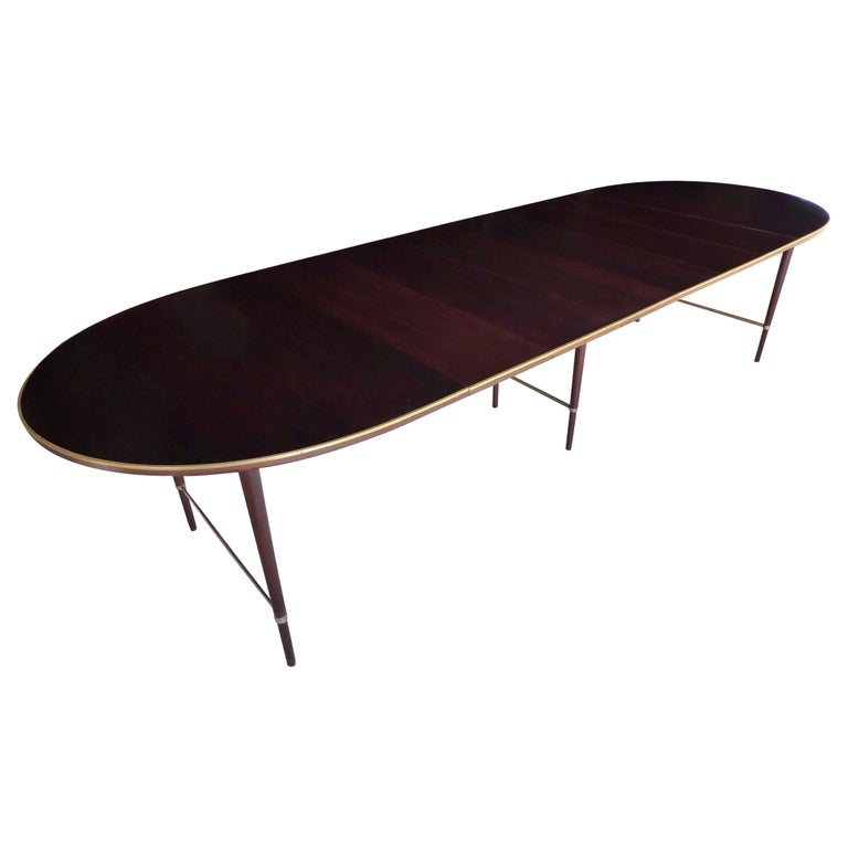 1950s Connoisseur Collection Mahogany Dining Table by Paul McCobb For Sale