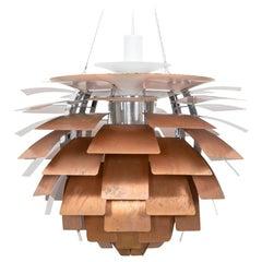 1950s Copper Ceiling Lamp 'Artichoke' by Poul Henningsen 'a'