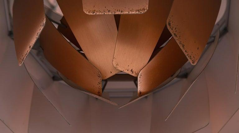 1950s Copper Ceiling Lamp 'Artichoke' by Poul Henningsen For Sale 2