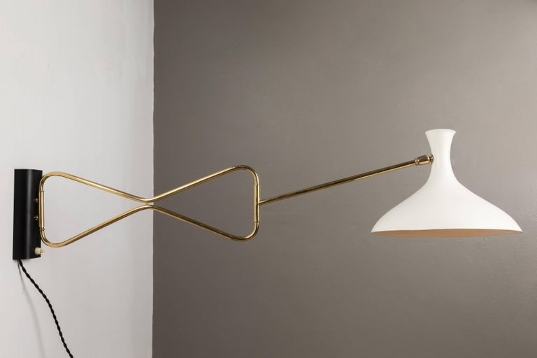 1950s cosack leuchten articulating wall light at 1stdibs