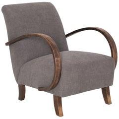 1950s Czech Mid-Century Modern Armchair