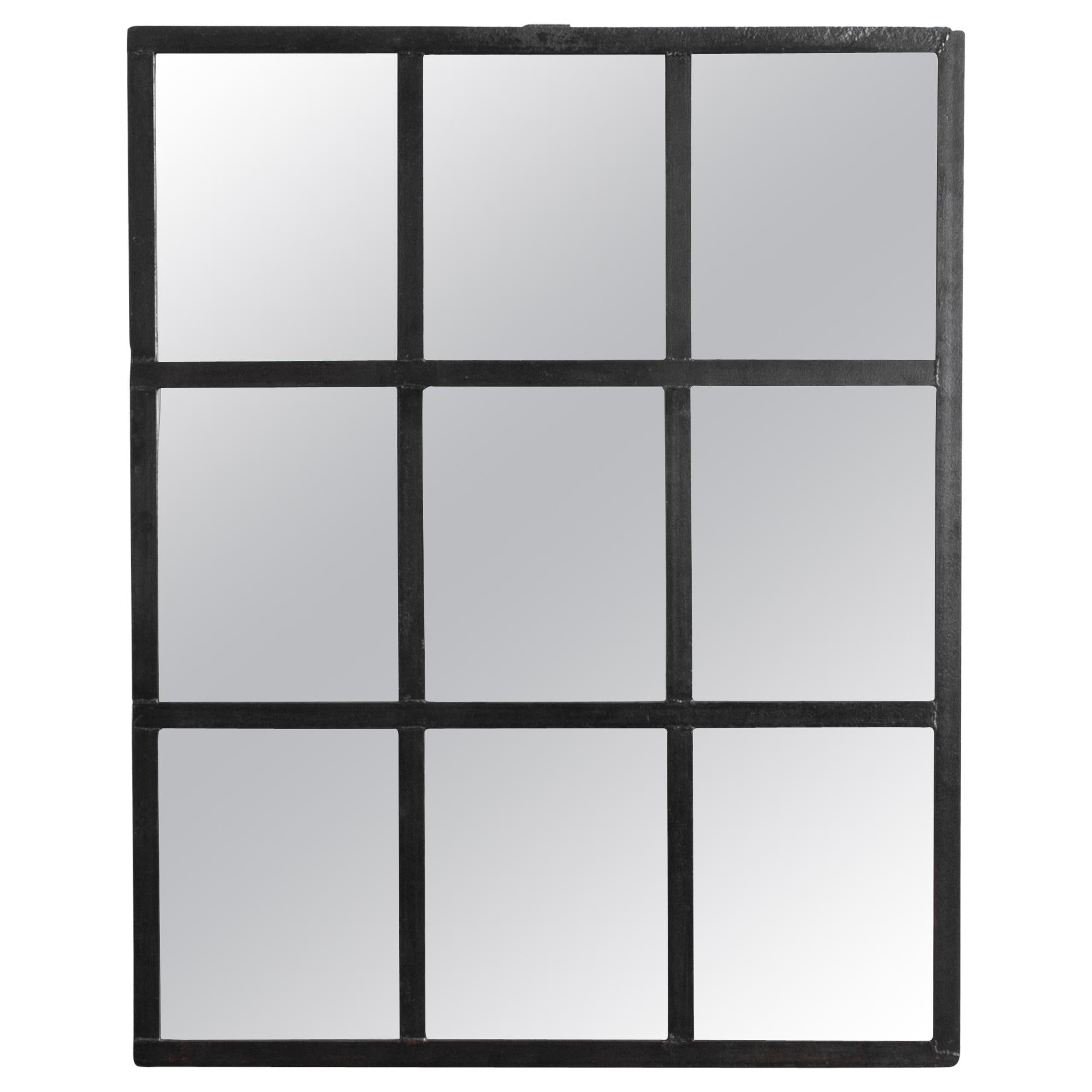 1950s Czech Mirrored Factory Window