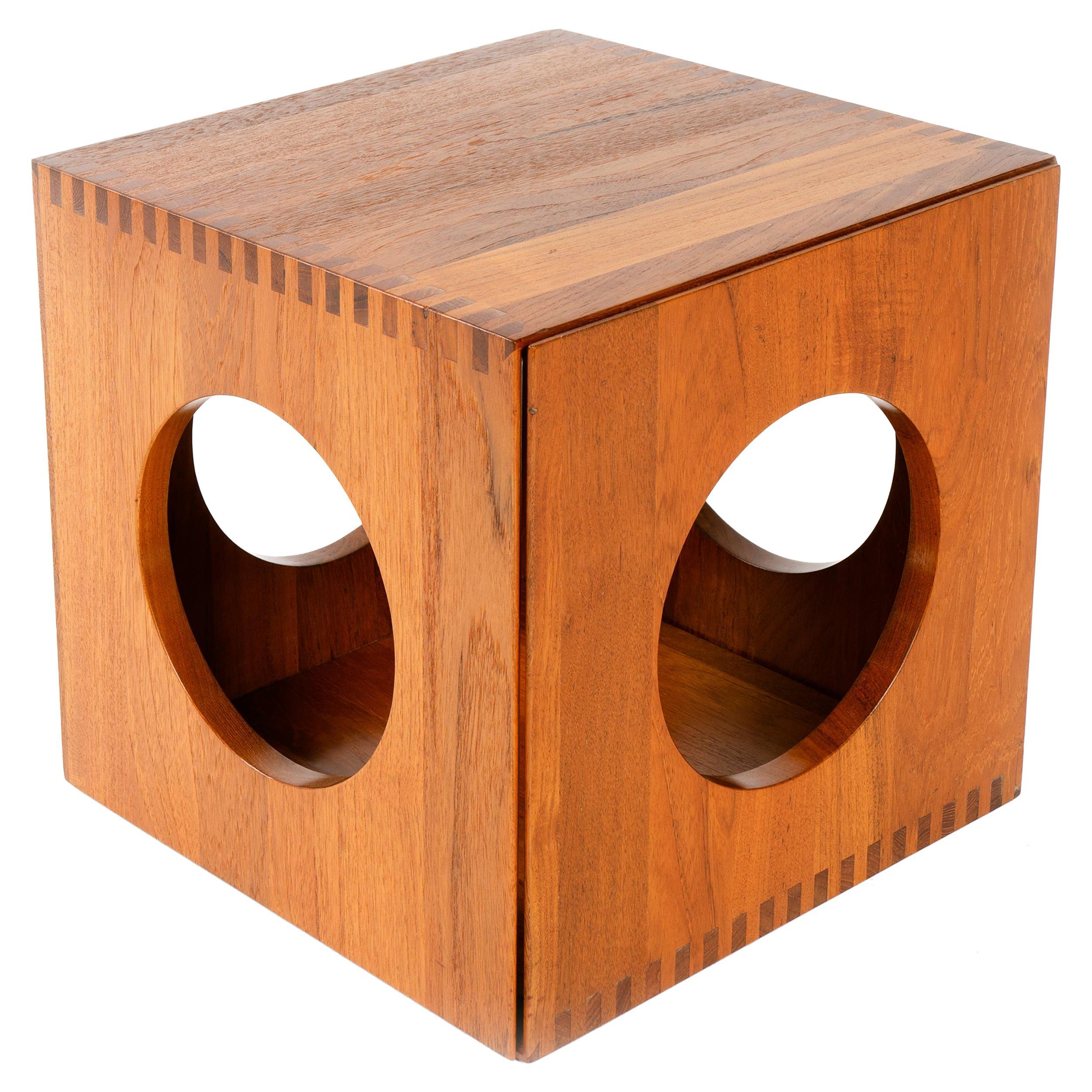 1950s Danish Cube End Tables by Jens H. Quistgaard for Richard Nissen