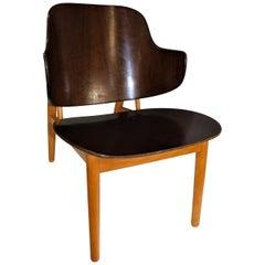 1950s Danish Ib Kofod Larsen Penguin Shell Chair for Christensen & Larsen