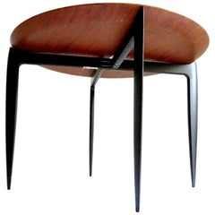 1960s Scandinavian Friz Hansen & Sven Age Wilumssen Side Table