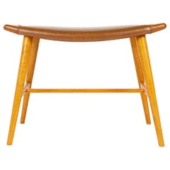 1950s Danish Oak Music Bench by Hans J. Wegner for A.P. Stolen