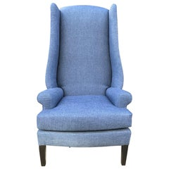 1950s Decorative Wingback Chair