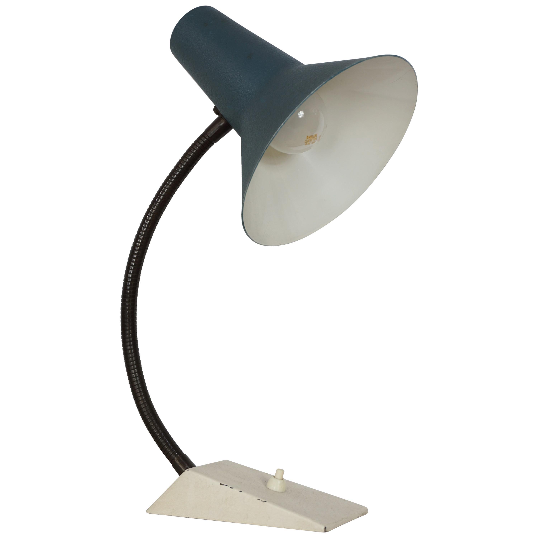 1950s Design Metal Articulated Desk Lamp