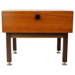 1950s Design Teak Wooden Side Table