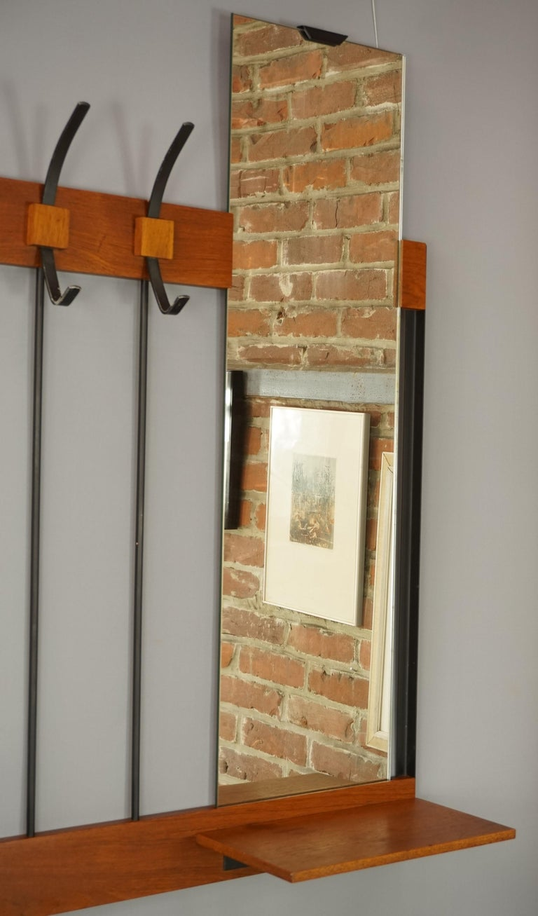 1950s Design Wall Mounted Coat Rack For Sale At 1stdibs