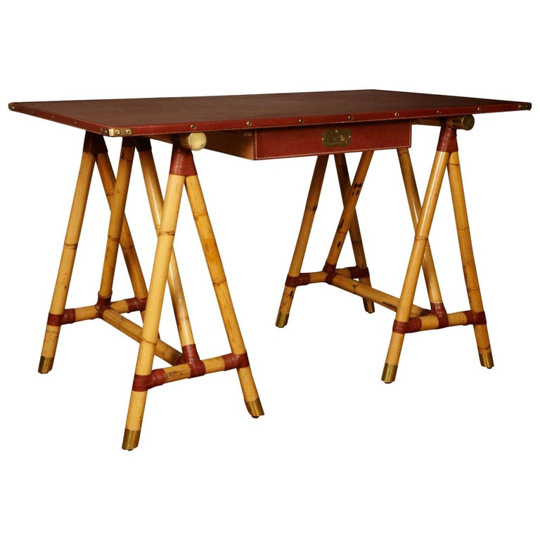 1950s Desk by Jacques Adnet For Sale