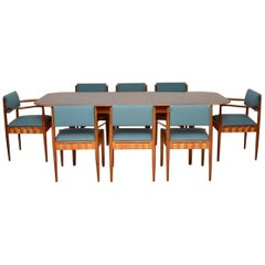 1950s Dining Table and Chairs by Robin Day for Hille