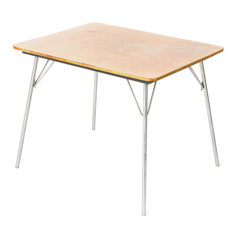 Mid-Century Modern 1950s DTM-50 Folding Table by Charles & Ray Eames for Herman Miller For Sale