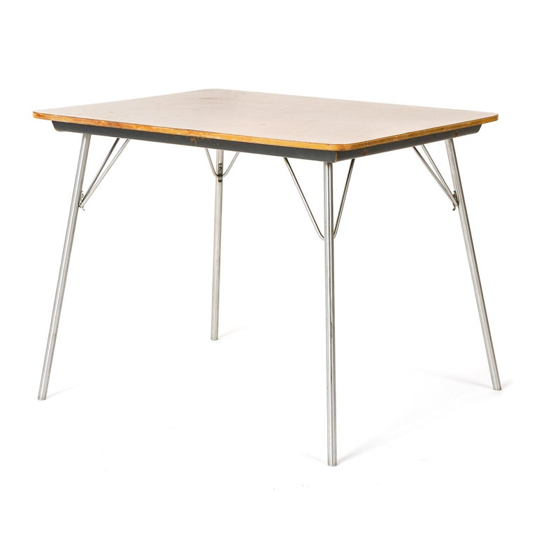 American 1950s DTM-50 Folding Table by Charles & Ray Eames for Herman Miller For Sale
