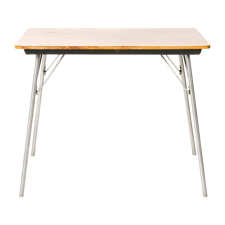 1950s DTM-50 Folding Table by Charles & Ray Eames for Herman Miller For Sale