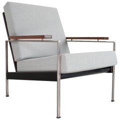 1950s Dutch Lounge Chair by Rob Parry Model Lotus, Midcentury Design