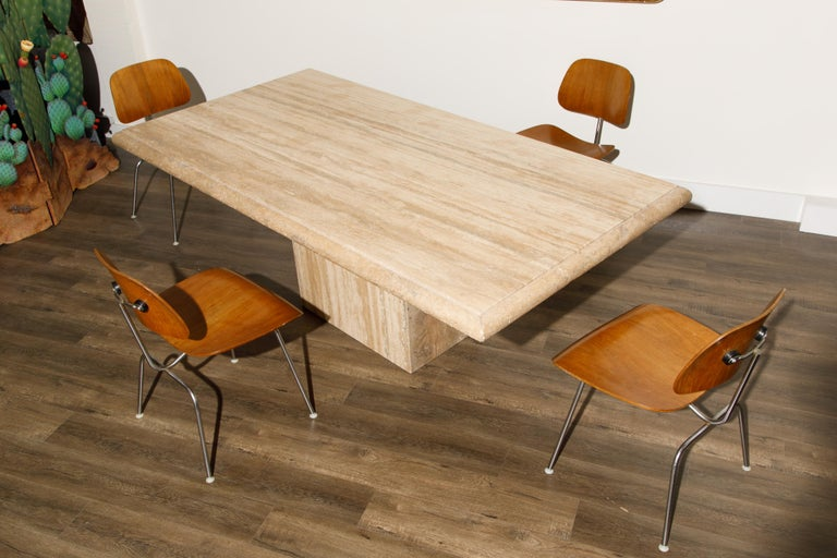 1950s Early Production 'DCM' Chairs by Charles Eames for Herman Miller, Signed  For Sale 3