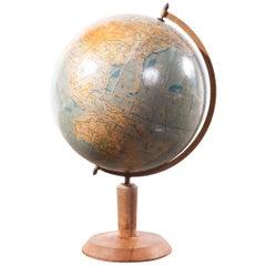 1950s Earth Rotating Teaching Globe