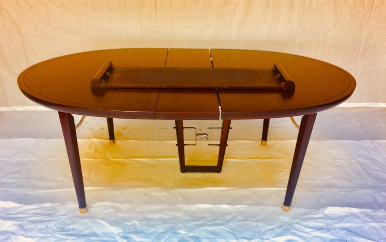 Edmond Spence Six Piece Mahogany Dinning Set for Industria Mueblera, S.A. 1950s  For Sale 4