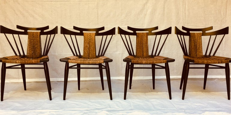 Edmond Spence Six Piece Mahogany Dinning Set for Industria Mueblera, S.A. 1950s  For Sale 5