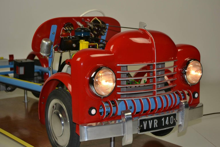 Mid-Century Modern 1950s  Educational Driving School Model of a Truck, VVR 140, Germany For Sale
