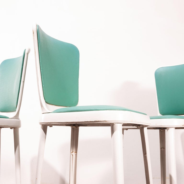 1950s Edwin Cinch Set of Four Dining Chairs For Sale 5