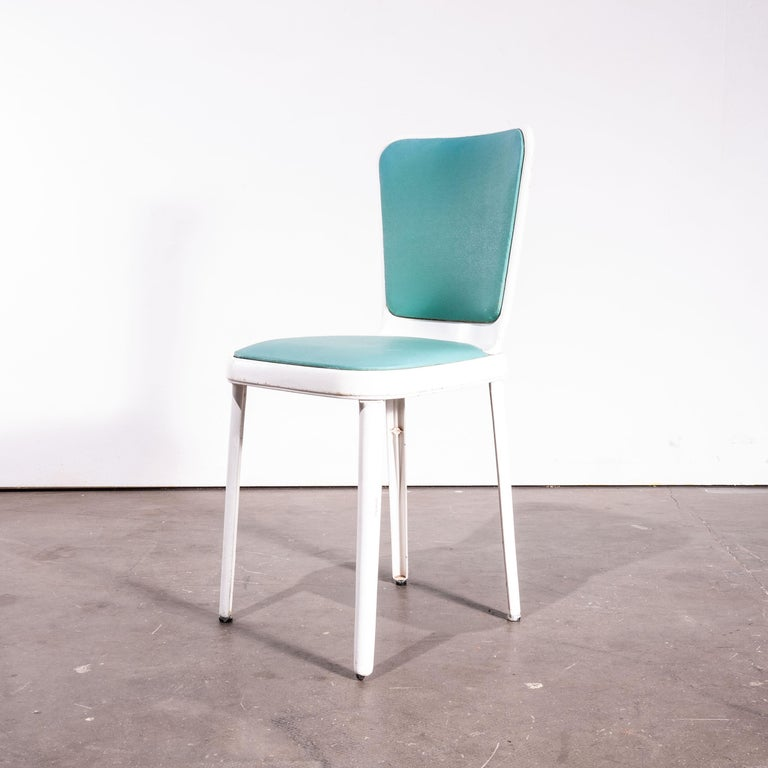English 1950s Edwin Cinch Set of Four Dining Chairs For Sale