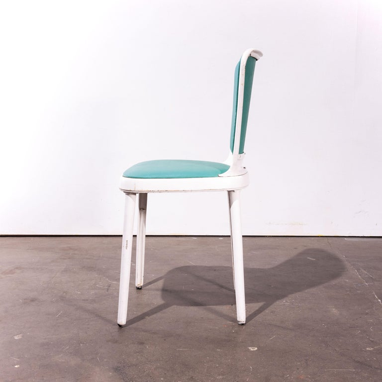 Mid-20th Century 1950s Edwin Cinch Set of Four Dining Chairs For Sale