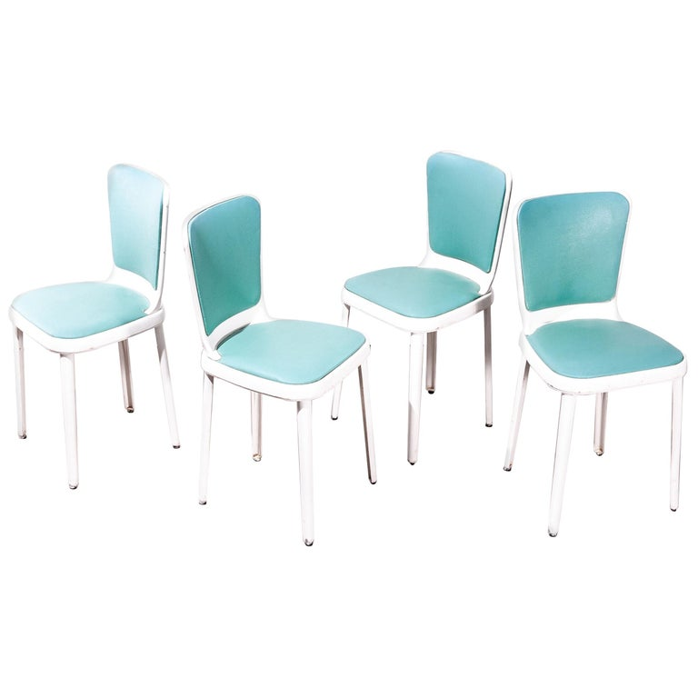 1950s Edwin Cinch Set of Four Dining Chairs For Sale